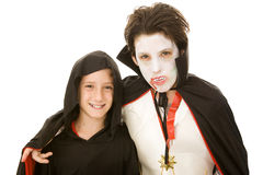 Halloween Kids - Costumed Boys Stock Photos