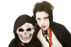Halloween Kids - Scary royalty free stock photo