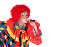 Halloween klaun zdjęcia stock