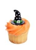 Halloween-kleiner Kuchen Stockfotografie