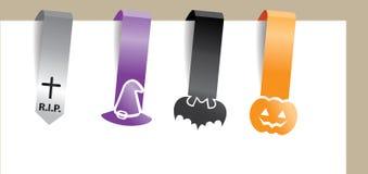 Halloween-Klipp Lizenzfreies Stockfoto