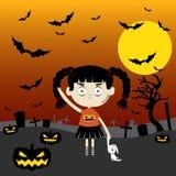 Halloween kommt Lizenzfreies Stockfoto