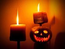 Halloween komt Stock Foto