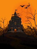 Halloween-Koninkrijk vector illustratie