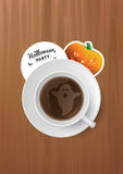 Halloween-Kop van koffie Royalty-vrije Stock Foto