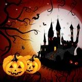 Halloween kort Royaltyfria Foton