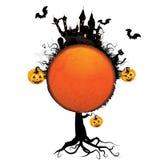 Halloween kort Arkivfoton