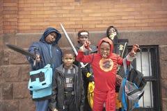 Halloween kostümiert Jugend lizenzfreie stockbilder