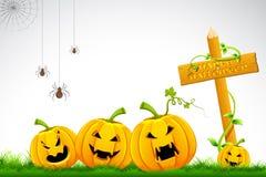 Halloween-Kürbis Lizenzfreie Stockfotos