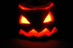 Halloween-Kürbis - Jack O'Lantern Lizenzfreies Stockbild