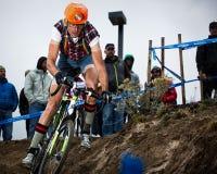 Halloween krzyża krucjata Cyclocross Zdjęcie Royalty Free