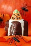 Halloween-Kuchen Lizenzfreies Stockfoto