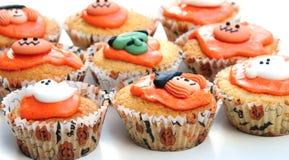 Halloween-Kuchen Lizenzfreie Stockfotos