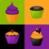 Halloween-Kuchenhintergrund Lizenzfreie Stockfotografie