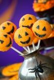 Halloween-Kuchenknalle Lizenzfreie Stockfotos