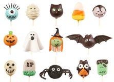 Halloween-Kuchenknalle Lizenzfreies Stockfoto