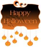 Halloween label Stock Photo
