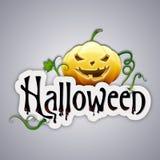 Halloween label Stock Photography