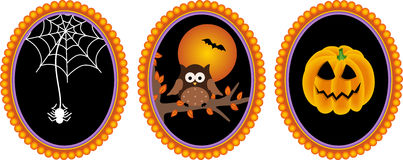 Halloween Label Royalty Free Stock Image