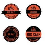 Halloween labels Stock Photos