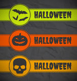 Halloween labels Royalty Free Stock Image