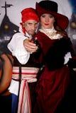 Halloween lady pirate Royalty Free Stock Photo