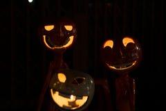 Halloween-lampen Stock Foto's