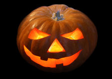 halloween lampionu bania Obrazy Royalty Free
