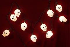 halloween lampor Arkivfoto