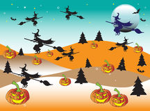 Halloween land royalty free stock photo
