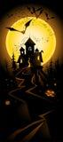 Halloween landscape Royalty Free Stock Photo