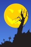 Halloween_landscape Lizenzfreie Stockfotografie