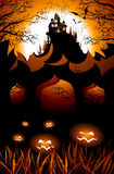 Halloween landscape Royalty Free Stock Image