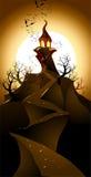 Halloween landscape Royalty Free Stock Image