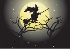 Halloween landscape. Stock Photos