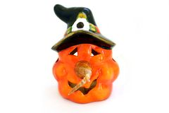 Halloween lantern Stock Photo