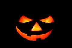 Halloween Lantern in the Dark Stock Photos