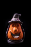 Halloween lantern isolated Stock Photography