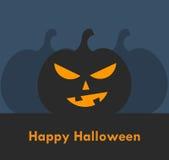 Halloween lantern pumpkin Royalty Free Stock Image
