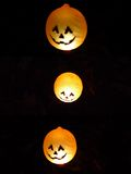 Halloween lanterns Stock Images