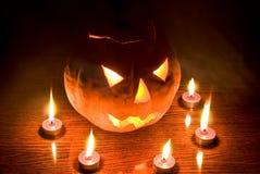 Halloween-Laterne lizenzfreies stockfoto