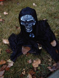 Halloween lawn ghoul monster Stock Image
