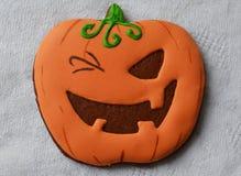 Halloween-Lebkuchen Stockfoto