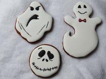 Halloween-Lebkuchen Stockfotografie