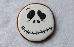 Halloween-Lebkuchen Lizenzfreie Stockbilder