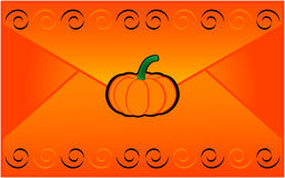 Halloween letter Royalty Free Stock Image