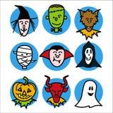 Halloween-Leute 1 Stockfotografie