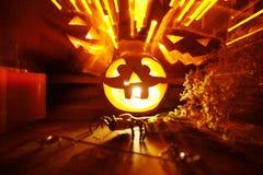 Halloween light Stock Photography