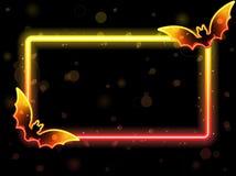 Halloween Lights Frame vector illustration