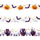 Halloween-lijn Stock Afbeelding